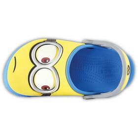 Crocs Fun Lab Minions Sandalias Niños, amarillo/azul
